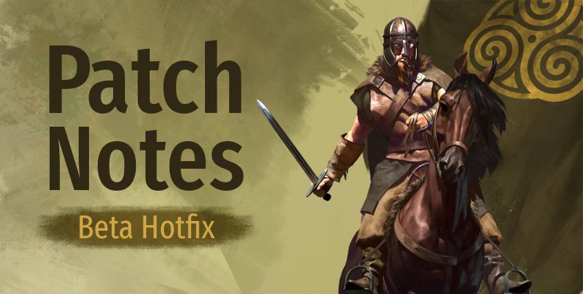 Beta Hotfix (e1.4.3 - 30/07/20)