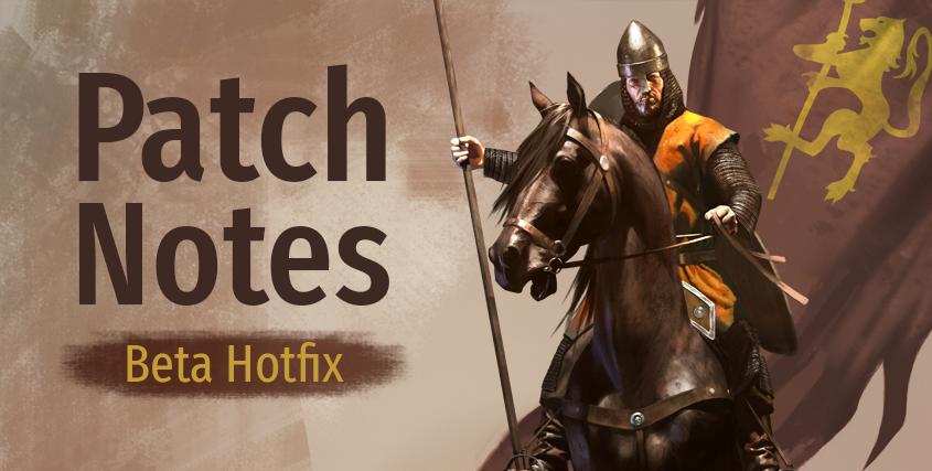 Beta Hotfix (e1.4.3 - 29/07/20)