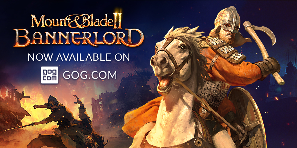 Mount & Blade II: Bannerlord Now Available on GOG!