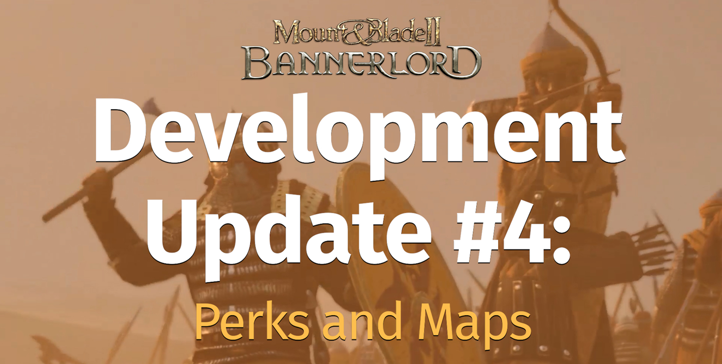 Development Update #4: Perks and Maps