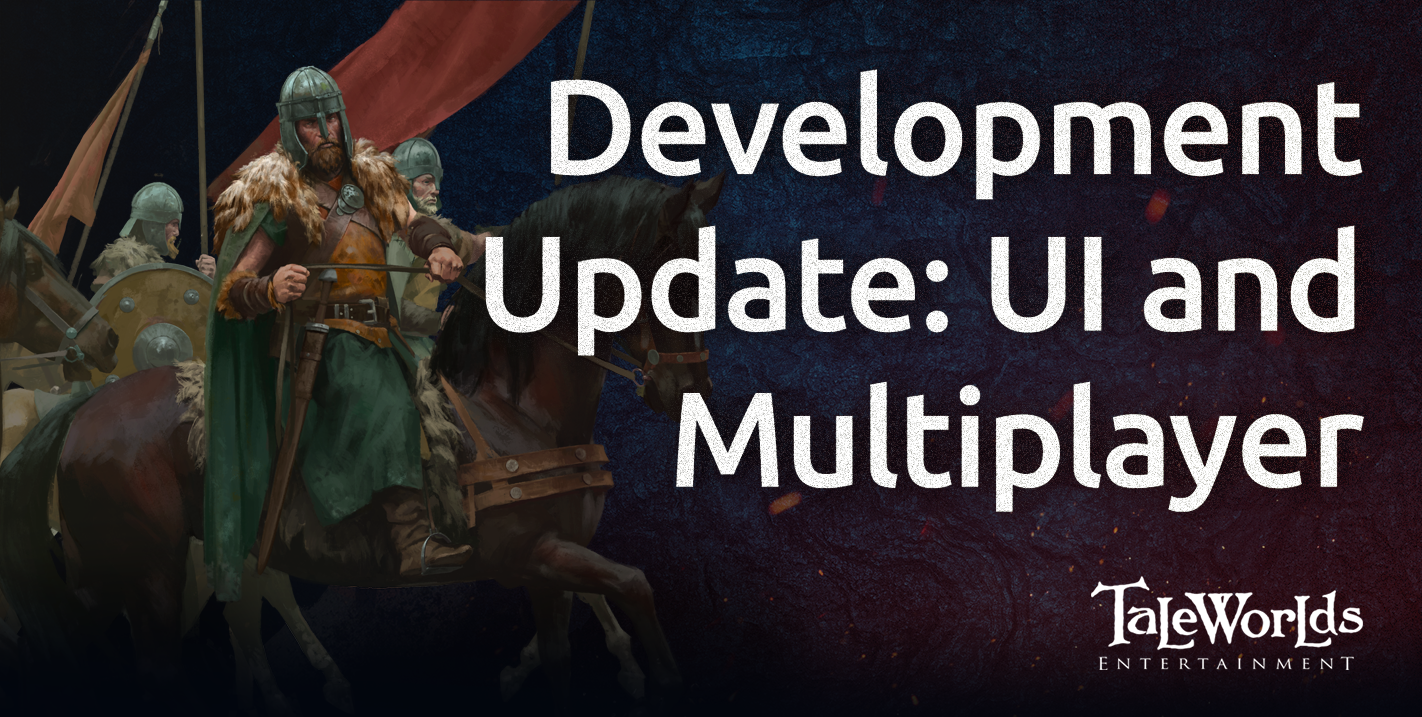 Development Update - UI and Multiplayer