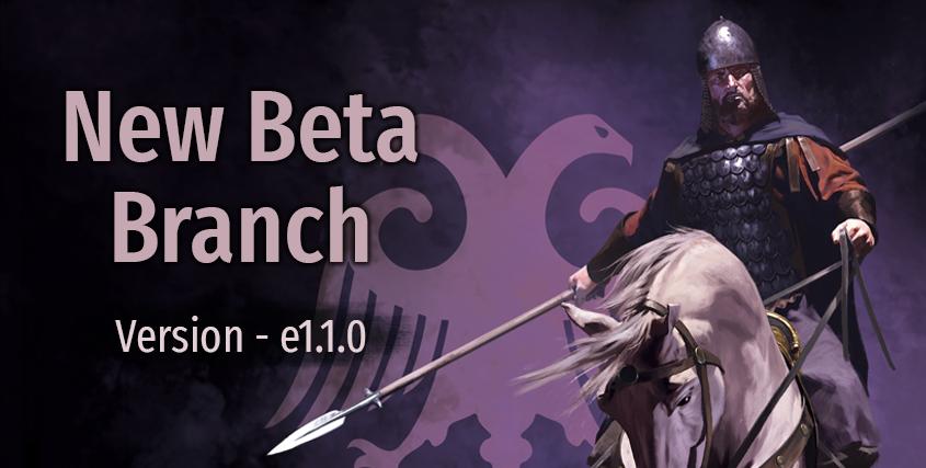 Beta Branch e1.1.0