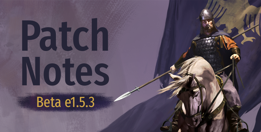 Beta Patch Notes e1.5.3