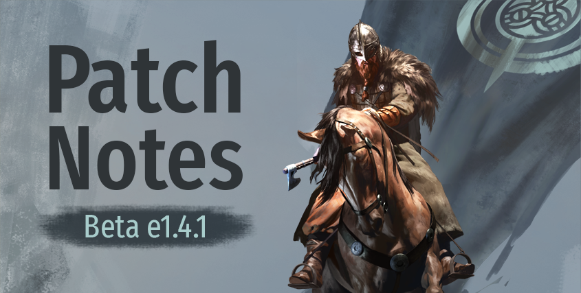 Beta Patch Notes e1.4.1