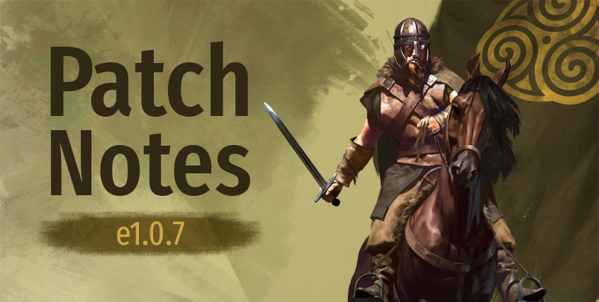 Patch Notes e1.0.7