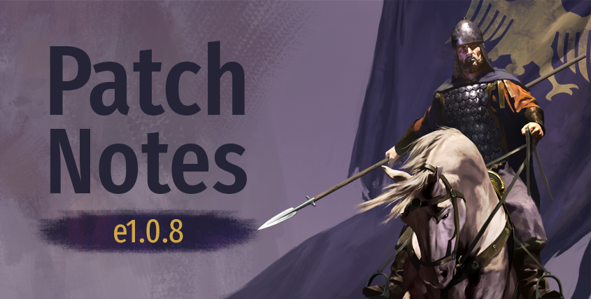Patch Notes e1.0.8