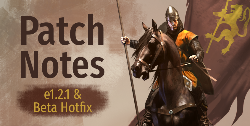 Patch Notes e1.2.1 & Beta Hotfix
