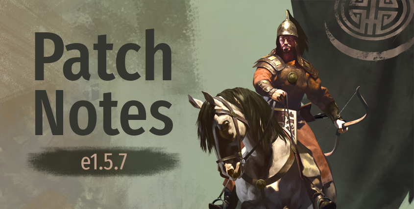 Patch Notes e1.5.7